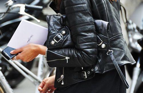 black fashion street style