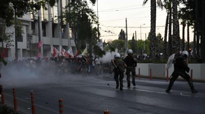 Συγκέντρωση καταγγελίας της καταστολής στην Αθήνα