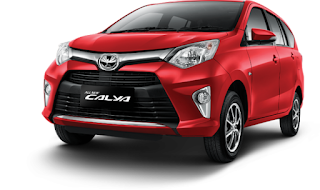 Toyota Calya Warna Red