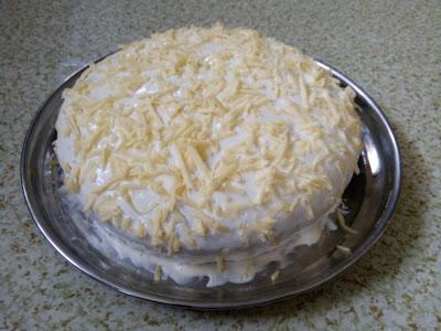Kek Coklat Lembab Cheese Leleh