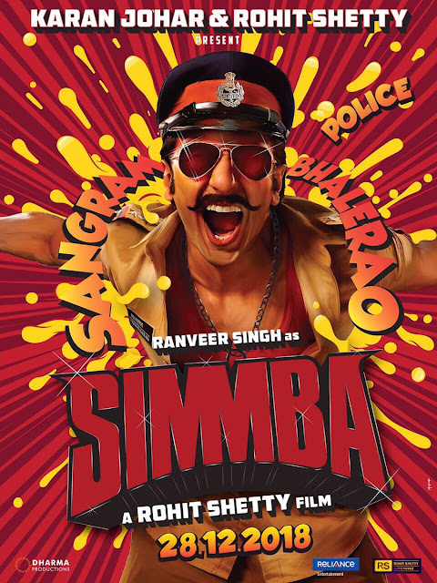 Simmba Movie First look, Simmba Movie Images,Simmba Movie First Poster