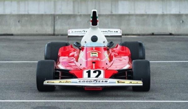 Subasta Ferrari 312T Niki Lauda 1975