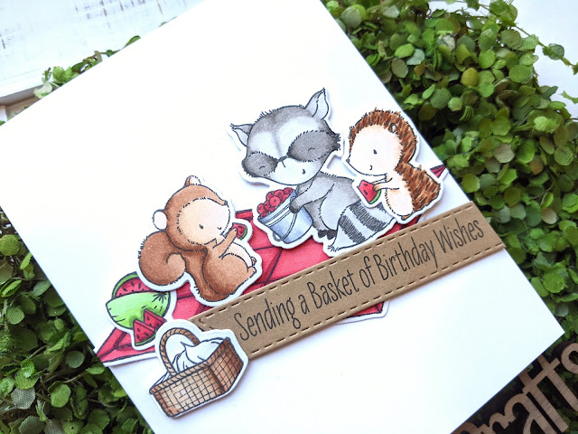 Birthday Card by Jess Crafts with My Favorite Things Picnic Pals