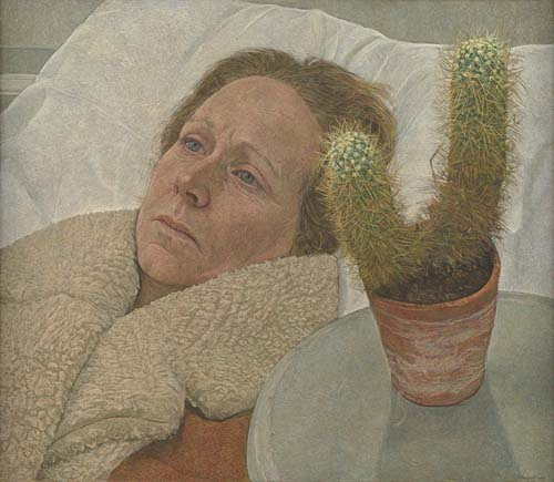"""Sheepskin and cactus"" by Antony Williams 