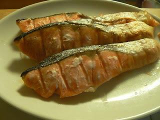 酒の肴 焼き魚 甘塩鮭