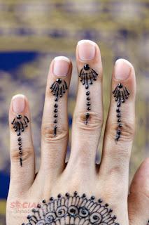 Floral Bridal Mehndi Designs images