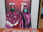Dua Wanita Pengedar Sabu Asal Tanjung Kota Bima Ditangkap Polisi