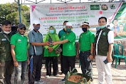 Rayakan Hari Santri, Keluarga Besar NU NTB Lounching Kampung Anggur NU dan Bersih Pantai