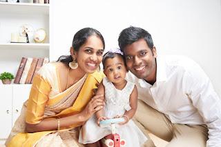 Bhuvaneswari Family Portrait