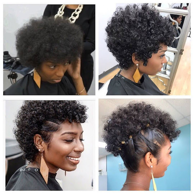 2019 Lovely and Stunning Natural Hairstyles to Copy