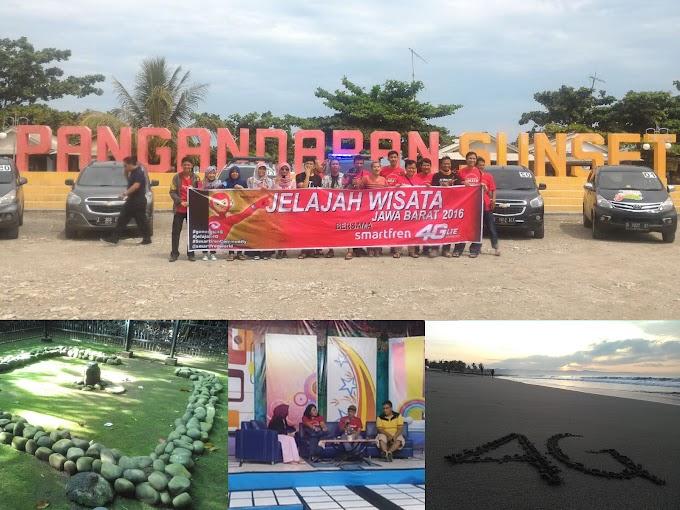 #Jelajah4G Menggali Keindahan Wisata Jawa Barat Dengan Sentuhan Tekhnologi