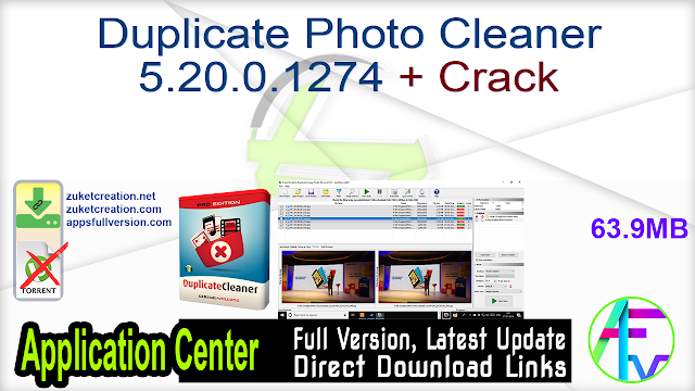 Duplicate Photo Cleaner 5.20.0.1274 + Crack