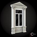 ancadramente ferestre exterior baghete decorative fatade de case win-019