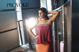 Nikki Galrani Really Smooth cute and Beautiful Soft Pics for PROVOKE Lifestyle