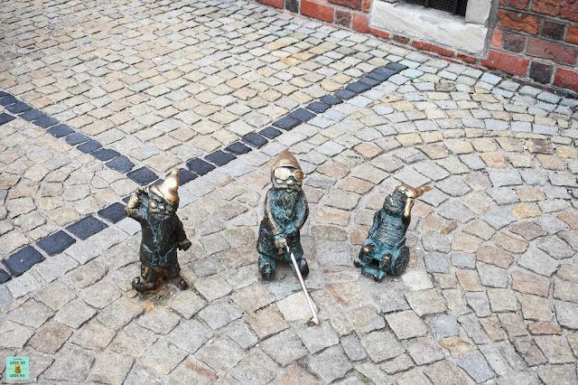 Gnomos de Wroclaw, Polonia