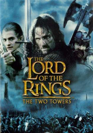 The Lord of the Rings The Two Towers 2002 BRRip 480p Dual Audio 600MB Watch Online Full Movie Download bolly4u
