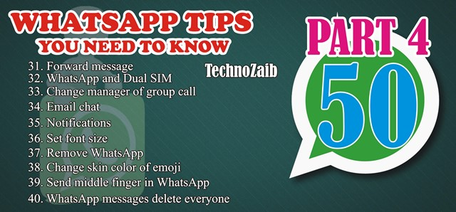 50 indispensable whatsapp tips you need to know PART 4 2020