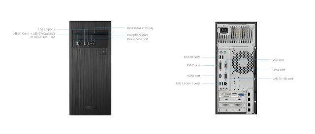 Spesifikasi Asus S340MC