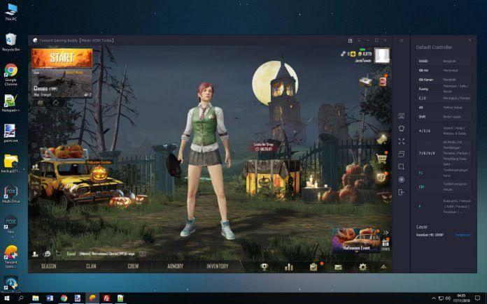 Tencent Gaming Buddy Emulator