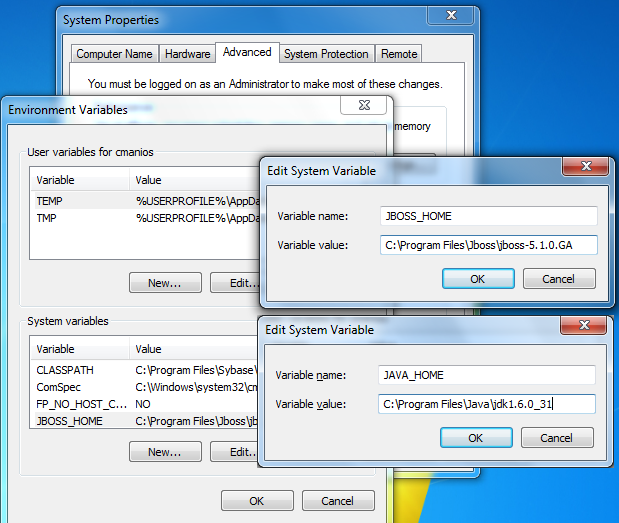 Code Samples: Install Jboss 5 1 0 GA to Windows 7