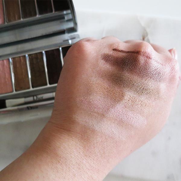 Dior Eye Reviver Backstage Pros Illuminating Neutrals Eye Palette 002