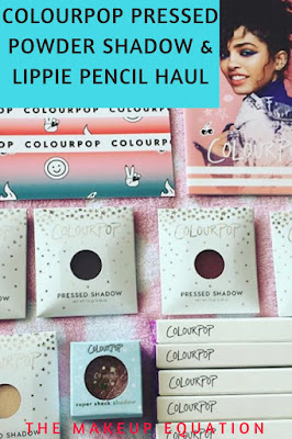 ColourPop Pressed Powder Shadow Review and ColourPop Lippie Pencil Review