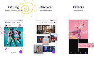 apliaksi edit video untuk smarphone adalah Movie Maker Filmmaker