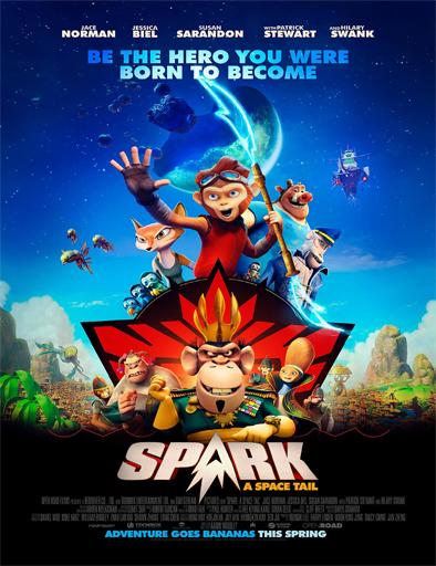 Ver Spark: Un mono espacial (2016) Online