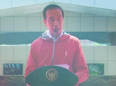 Presiden Jokowi Resmikan Bandara Buntu Kunik Tanah Toraja