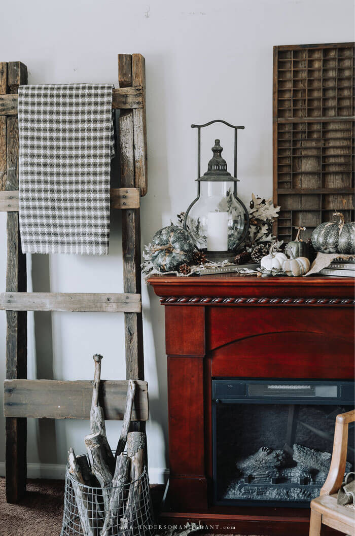 This post is full of decorating ideas for a neutral and rustic fall.