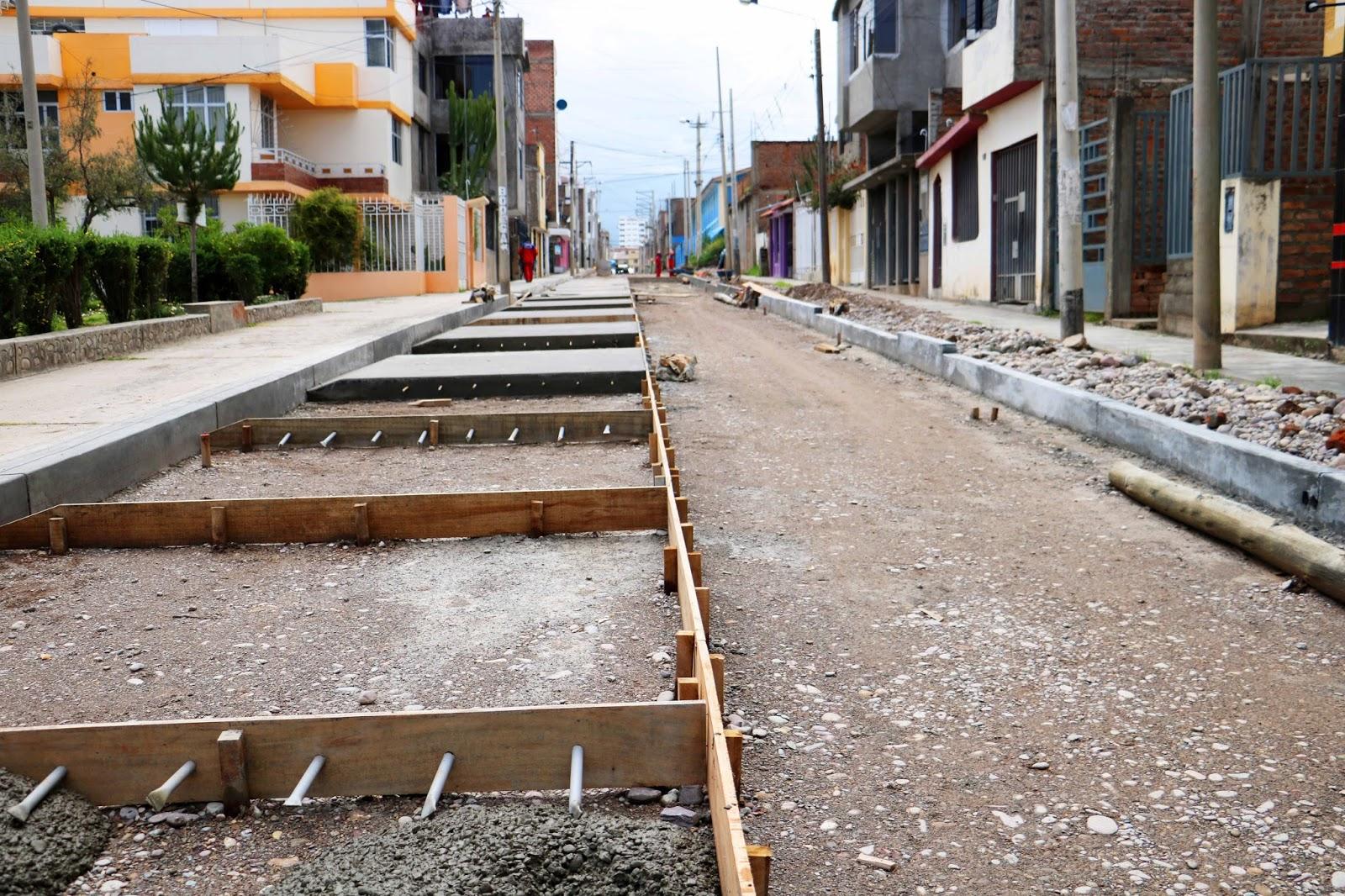 En los próximos días culminan pavimentación de las cuadras 1 y 2 del Jr. Tumbes