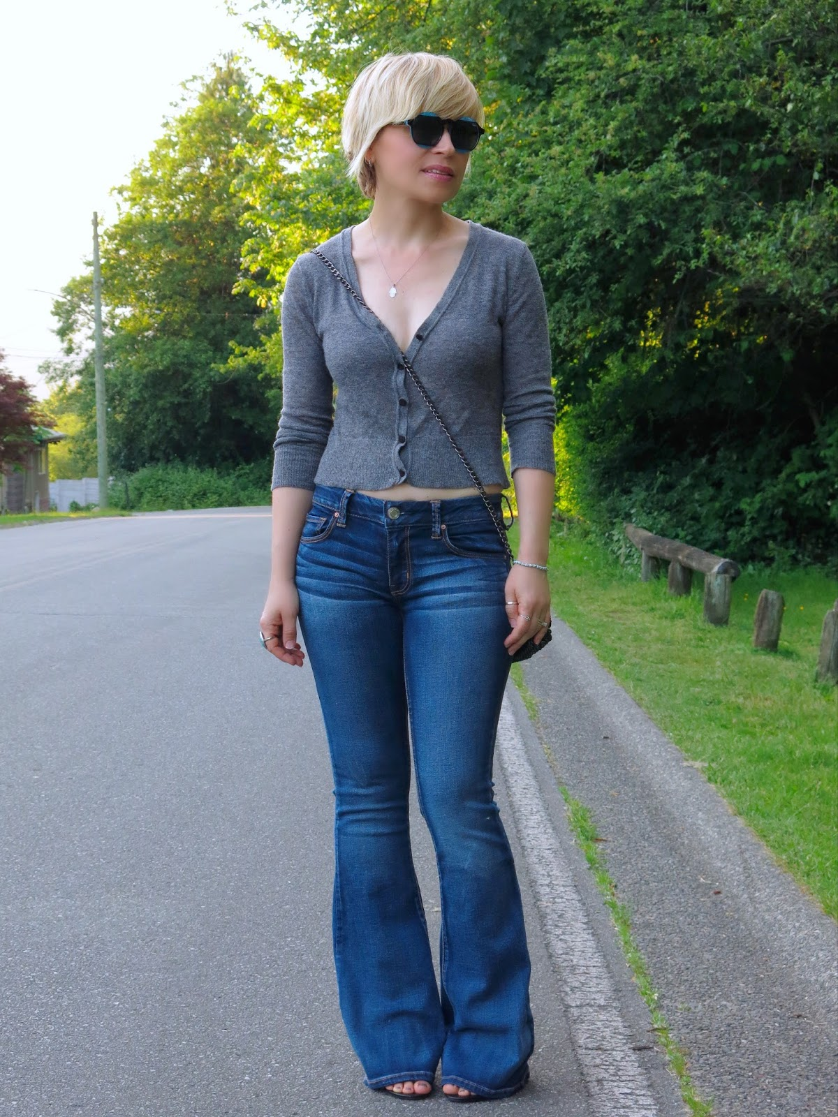 Style 3-Play:  Flare Jeans Look One
