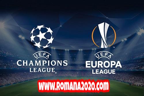 uefa يتشبث ب champions league و europa league