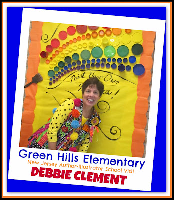Debbie Clement Makes an Author-Illustrator School Visit in NJ!