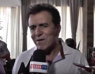 Buba Germano diz em João Pessoa que em Picuí perdeu para a banda podre do PT