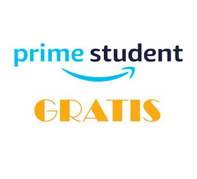 Gratis Prime Student promoción