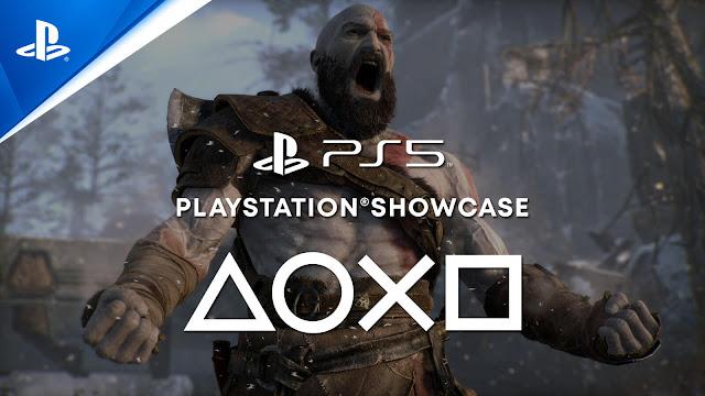 god of war ragnarök sequel ps4 ps5 playstation showcase 2021 event 2022 action adventure game santa monica studio sony interactive entertainment