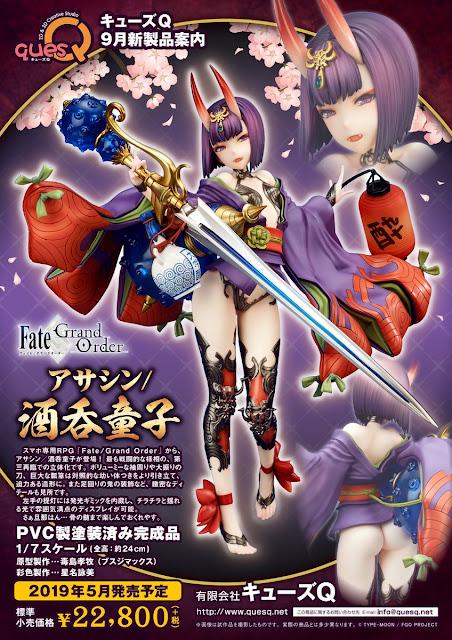 "Shuten Douji (Assassin) 1/7 de ""Fate/Grand Order"" - Ques Q"