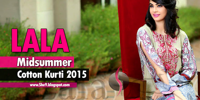 Lala Classic Cotton Kurti for Mid-Summer 2015