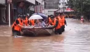 China renews yellow alert for heavy rainstorms