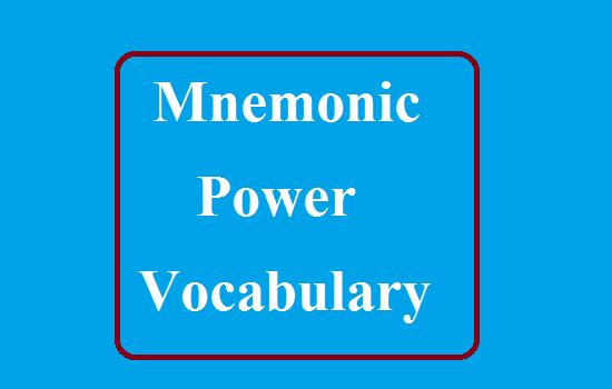 Mnemonic Power Vocabulary Password jobninja PDF