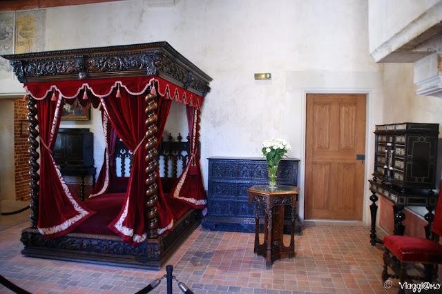 La Camera di Leonardo da Vinci a le Clos Lucé di Amboise