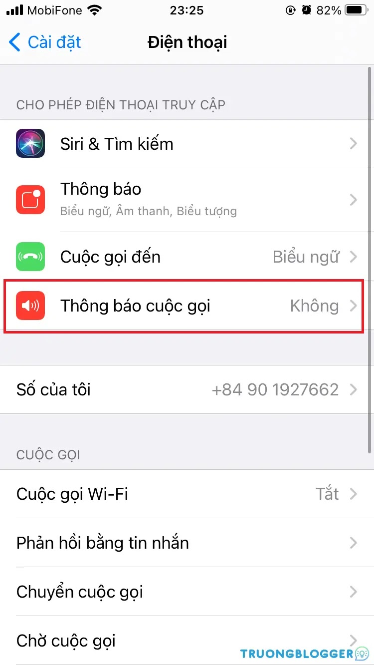 Hướng dẫn tắt tiếng nói khi có cuộc gọi đến trên iPhone