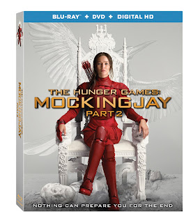 The Hunger Games Mockingjay Part 2 Bluray