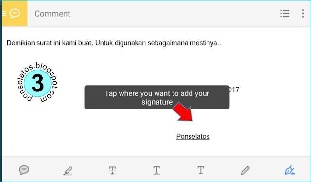 Cara Membuat Tanda Tangan Di Android