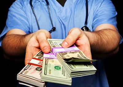 medical practice money