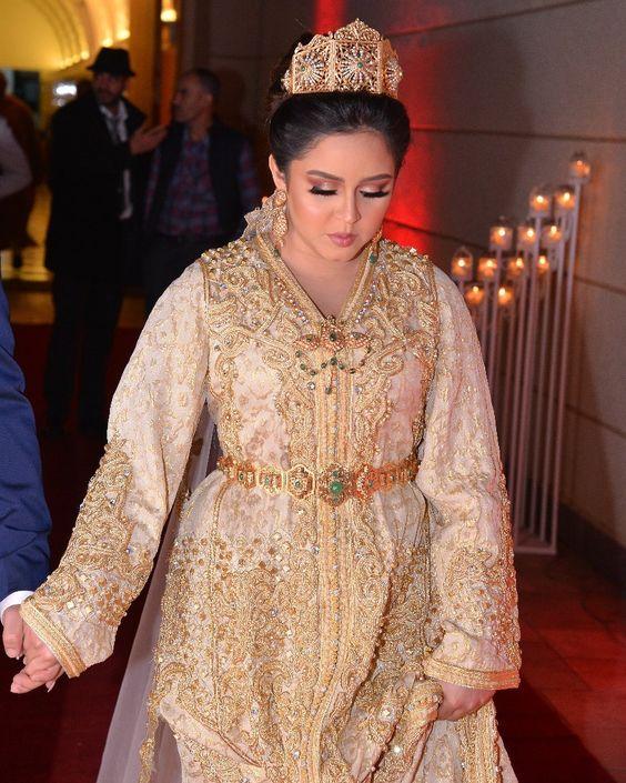 caftan 2020, caftan marocain de mariage, caftan haute couture