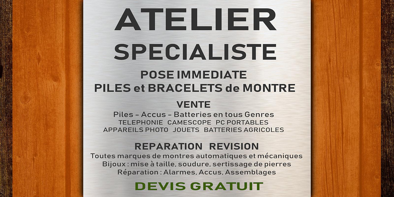 Atelier Pil'Vite - Tourcoing Centre.
