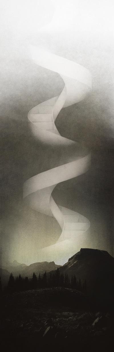 Talon Abraxas 1980 | British Surrealist painter