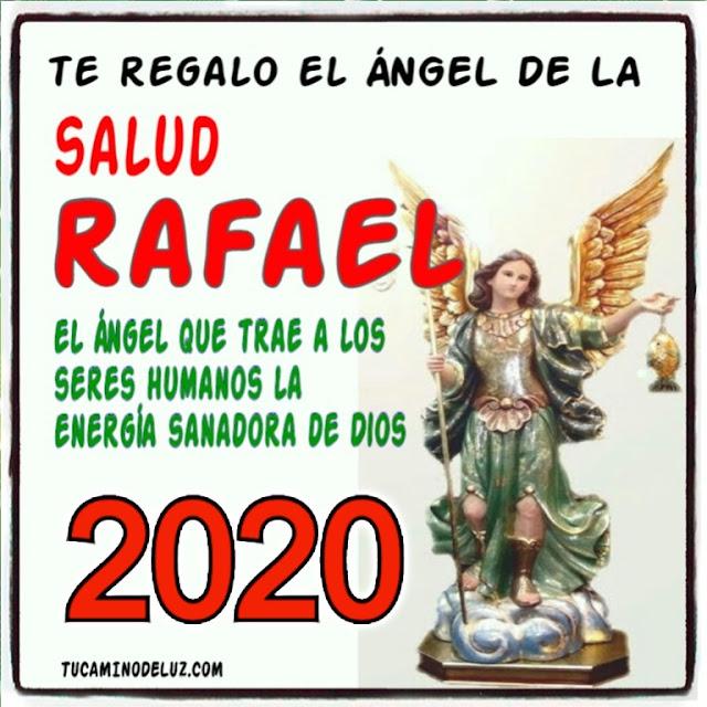2020 te regalo el ángel de la salud